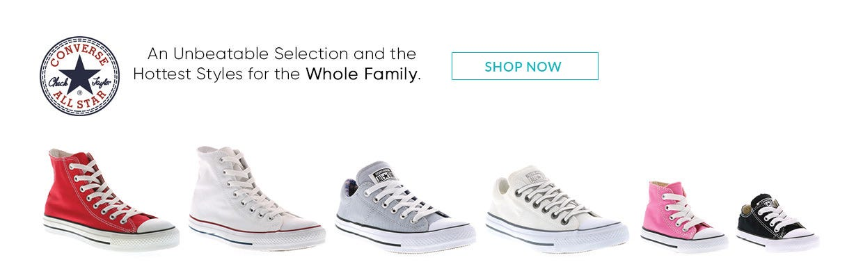 Converse for the Whole Family!