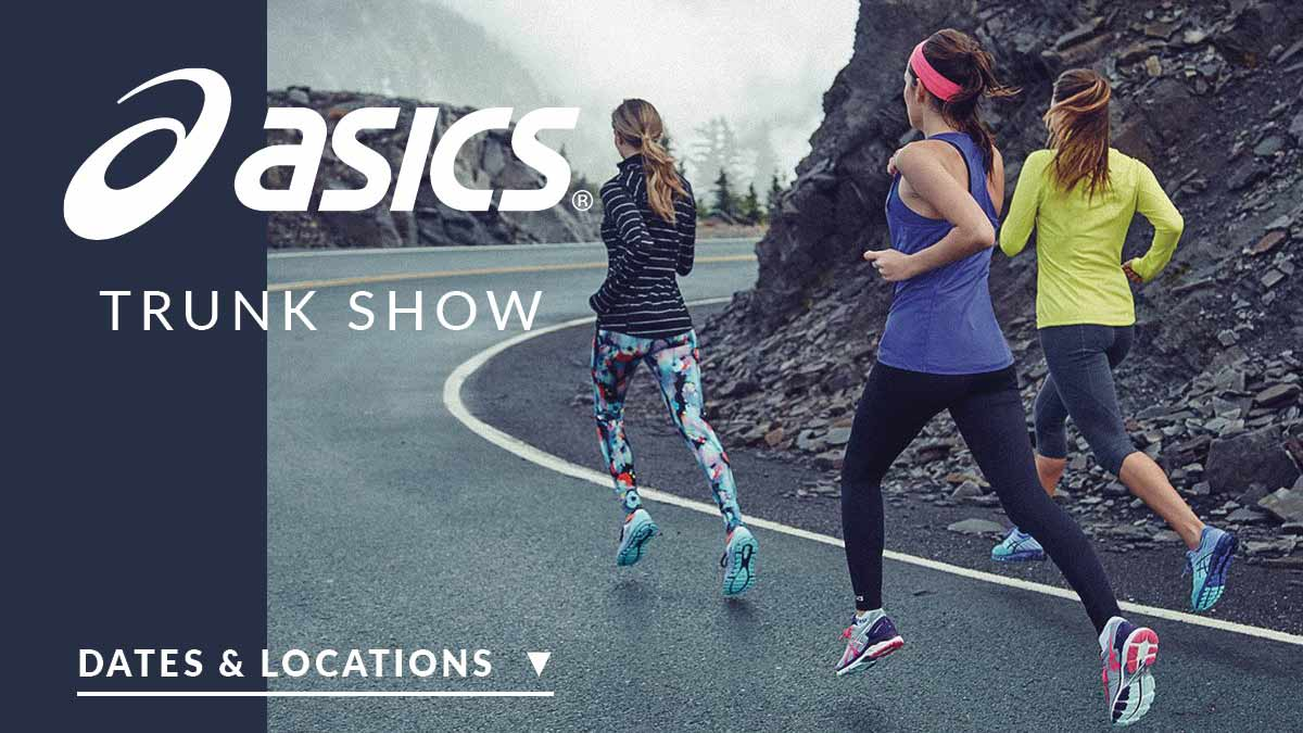An Asics Trunk Show is coming to a Shoe Sensation Near You