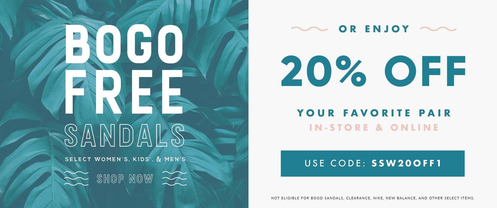 BOGO Free Sandals