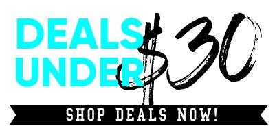 Best Deals Under $30