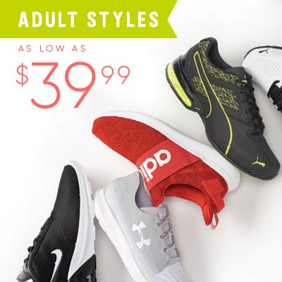 Shop Adult sizes for Back-to-School