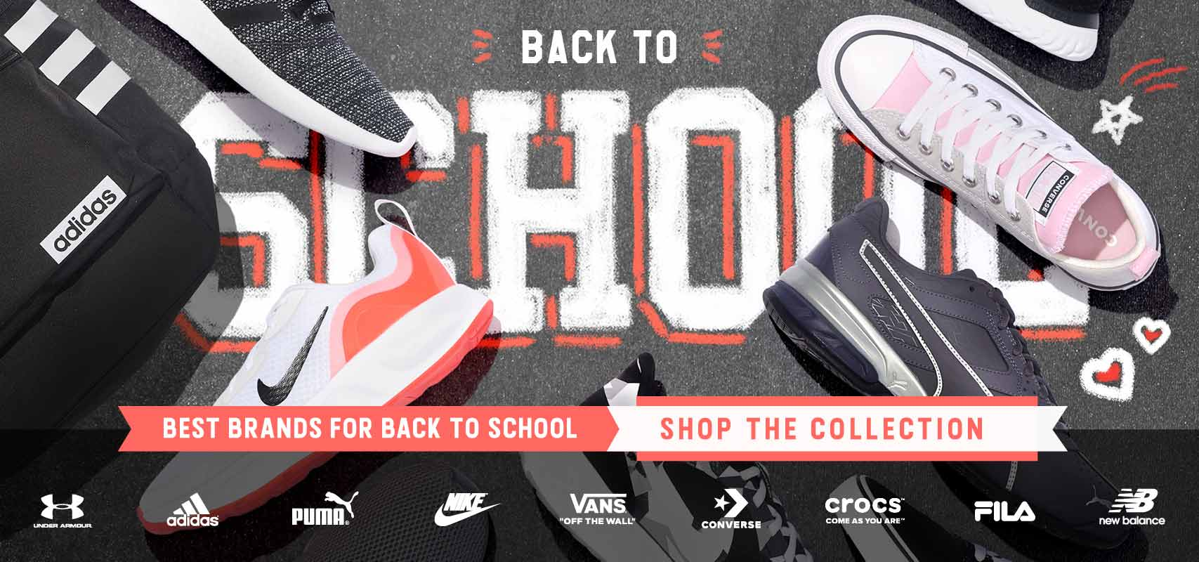 On-trend athletic shoes for Back to School