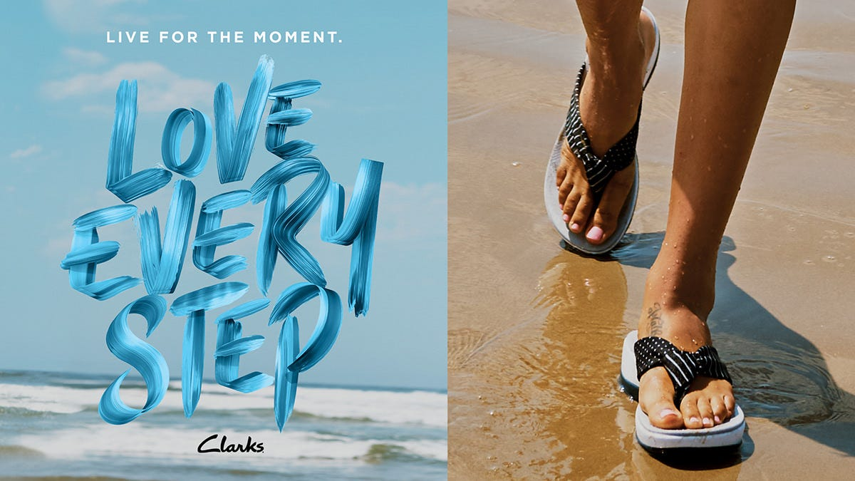 Clarks Live for the Moment, Love Every Step