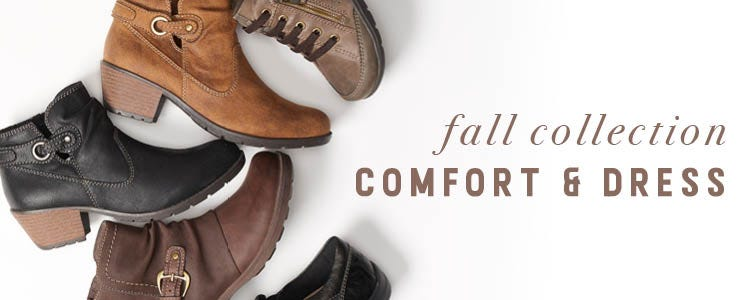 Shop Fall Collection Comfort and Dress