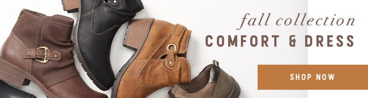 Fall Collection Comfort and Dress