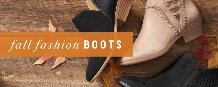 Shop Fall Fashion Boots