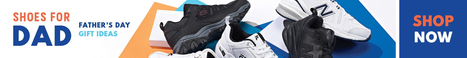 Give Dad the perfect pair of shoes for Father's Day