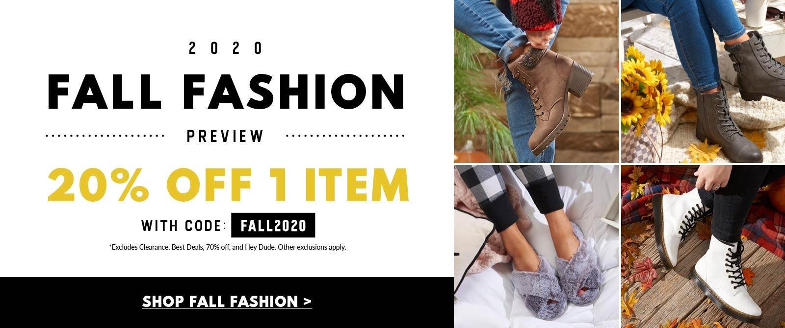 Fall Fashion Preview!