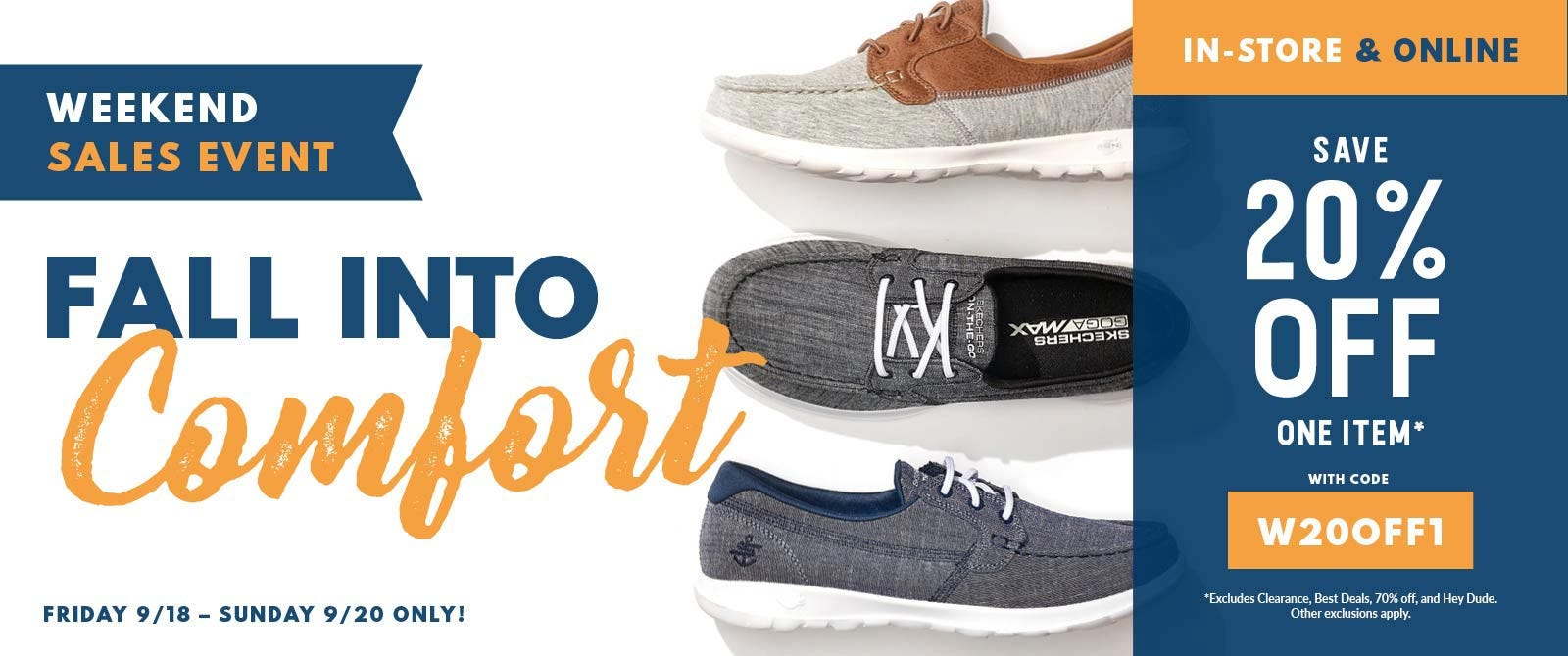 Fall Comfort Shoes are Here!