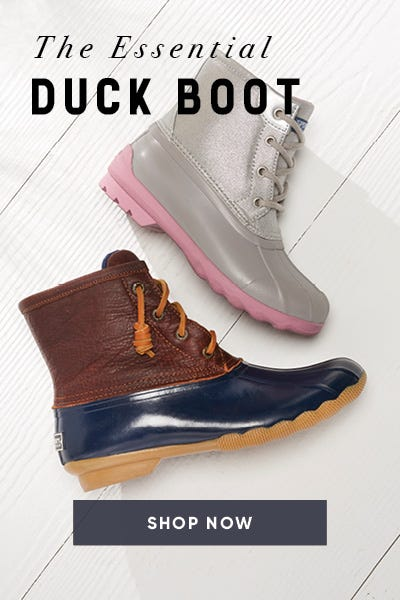 Shop must-have Duck Boots