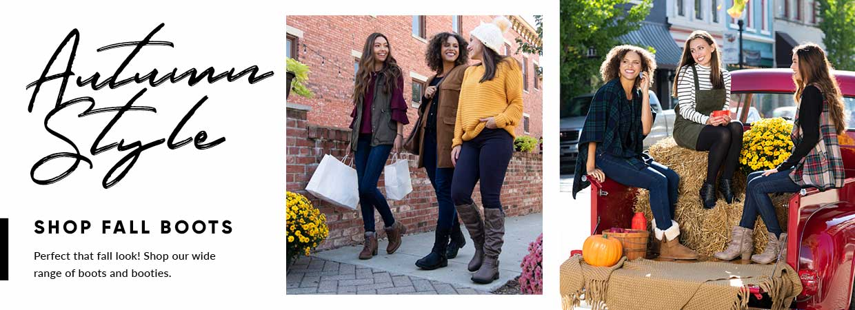 Shop our collection of Fall boots!