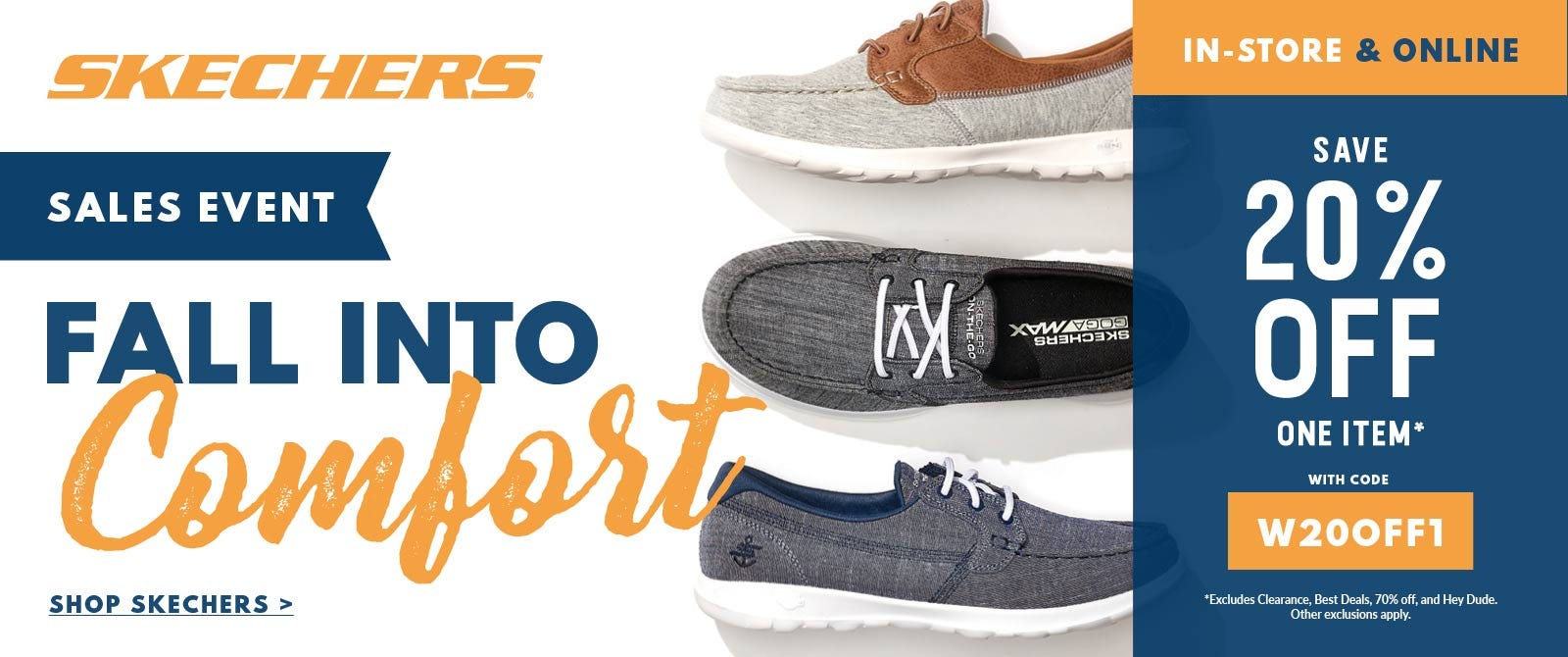 Fall Comfort Shoes from Skechers are here!