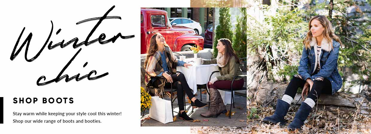 Shop our collection of Women's boots!