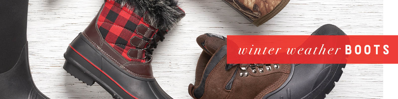 Shop Winter Weather Boots